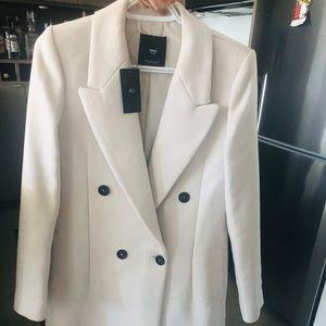 Mango tailored wool coat